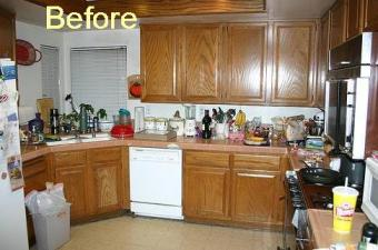 Before Kitchen - what presently exists