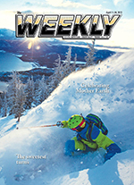The current issue of The Weekly through April 24th.