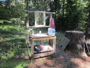 Outdoor kitchen/vanity