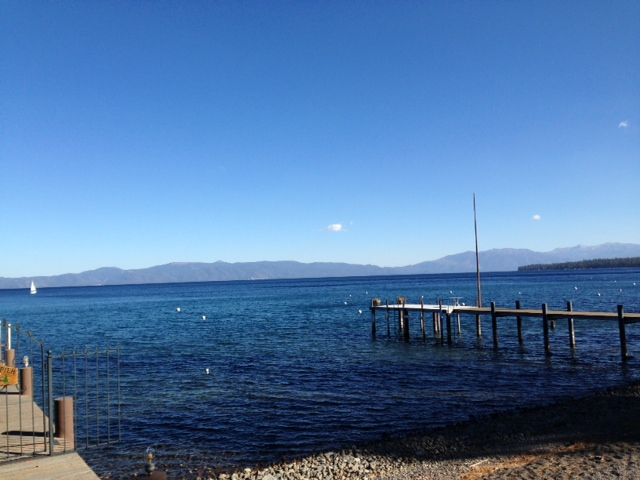 Sunny skies on Sunday at Tahoe