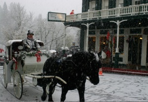victorian-horse-and-carriage-snow- Nevada City