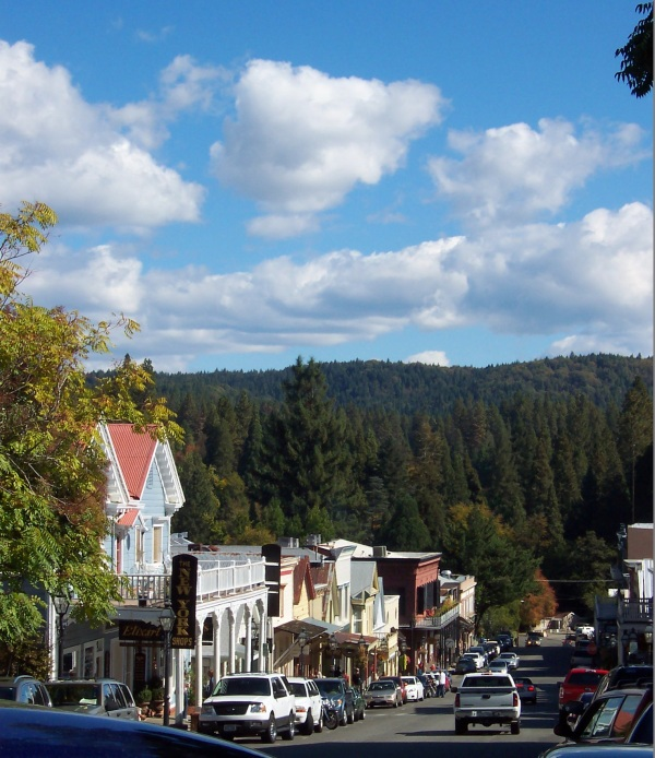 Nevada City.  Photo by Michelle Portesi