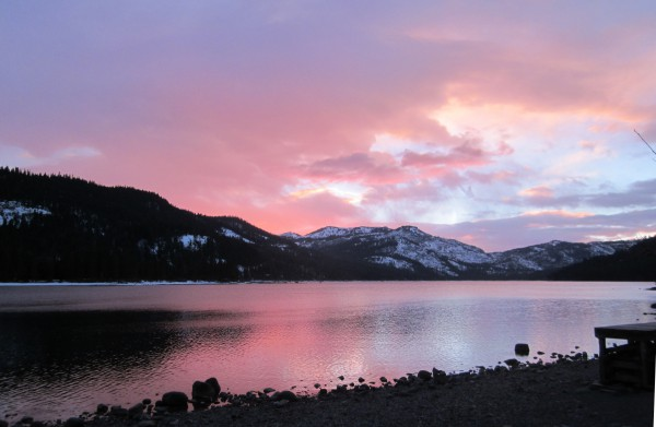 Donner Lake Sunset. Photo by Michelle Portesi