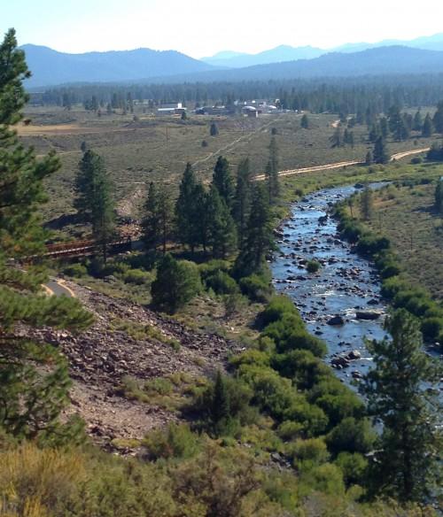 View of the Truckee River on the Legacy Bike Trail