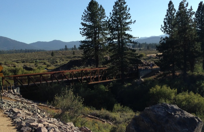 Legacy Bike Trail, Truckee CA