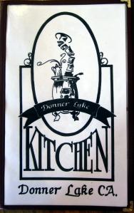 Donner Kitchen Menu