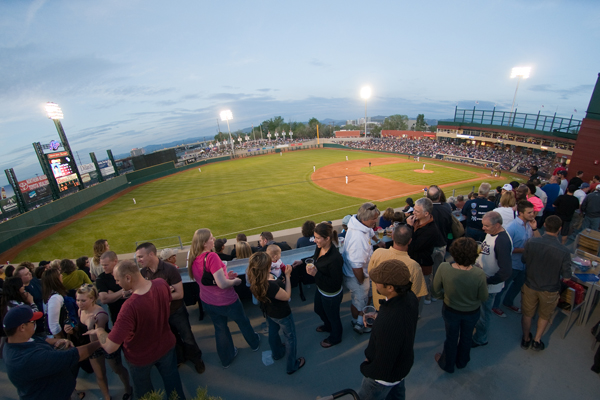 Photo from Reno Aces website. Photo by David Calvert/Reno Aces