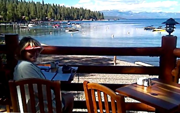 The Deck at Sunnyside, West Shore of Lake Tahoe
