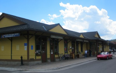 The Truckee Train Station also is home to the Truckee Visitors Center, Chamber of Commerce and a variety of local craftsmen