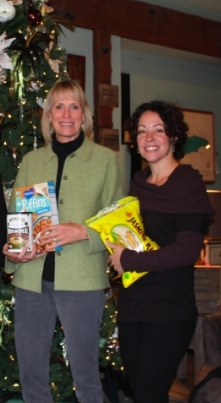 Lynn Richardson, from Truckee Community Christmas and Brooke Bentley are excited to partner for the fourth year!