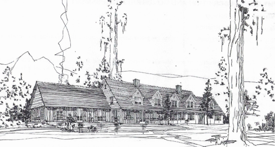 Schilling-Lodge-original-drawing-sketch